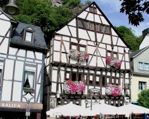 """Seit 1392 steht das Fachwerkhaus, das früher den Zusatz """"im Gebück"""" führte."""