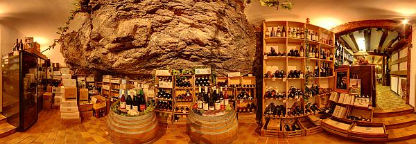 Ansicht Weinstube